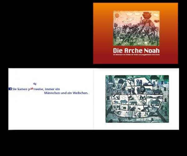"Typografie | ""Die Arche Noah"" | Malmäuse Sülfeld"