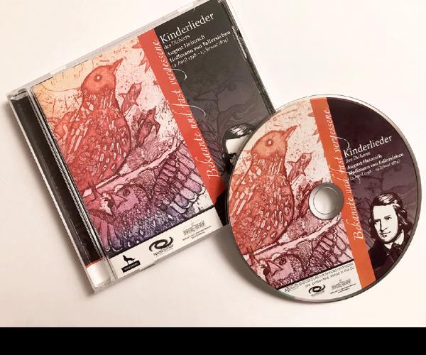 CD+Booklet | Kinderlieder Hoffmann von Fallersleben | Stadt Wolfsburg